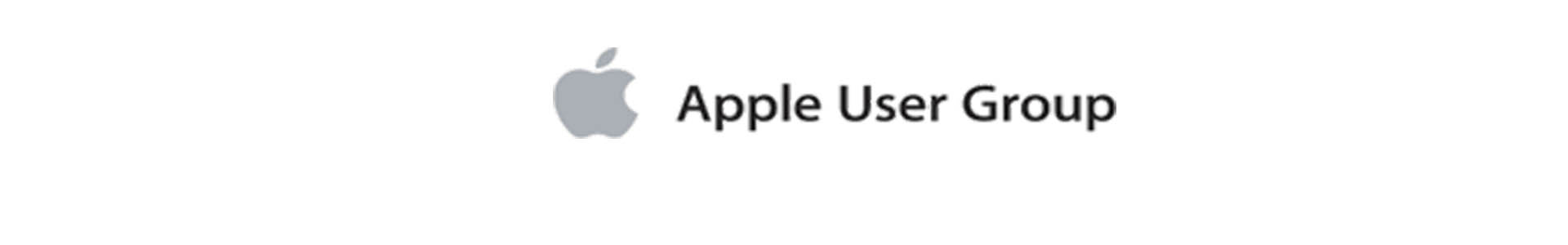 We are an Apple User Group